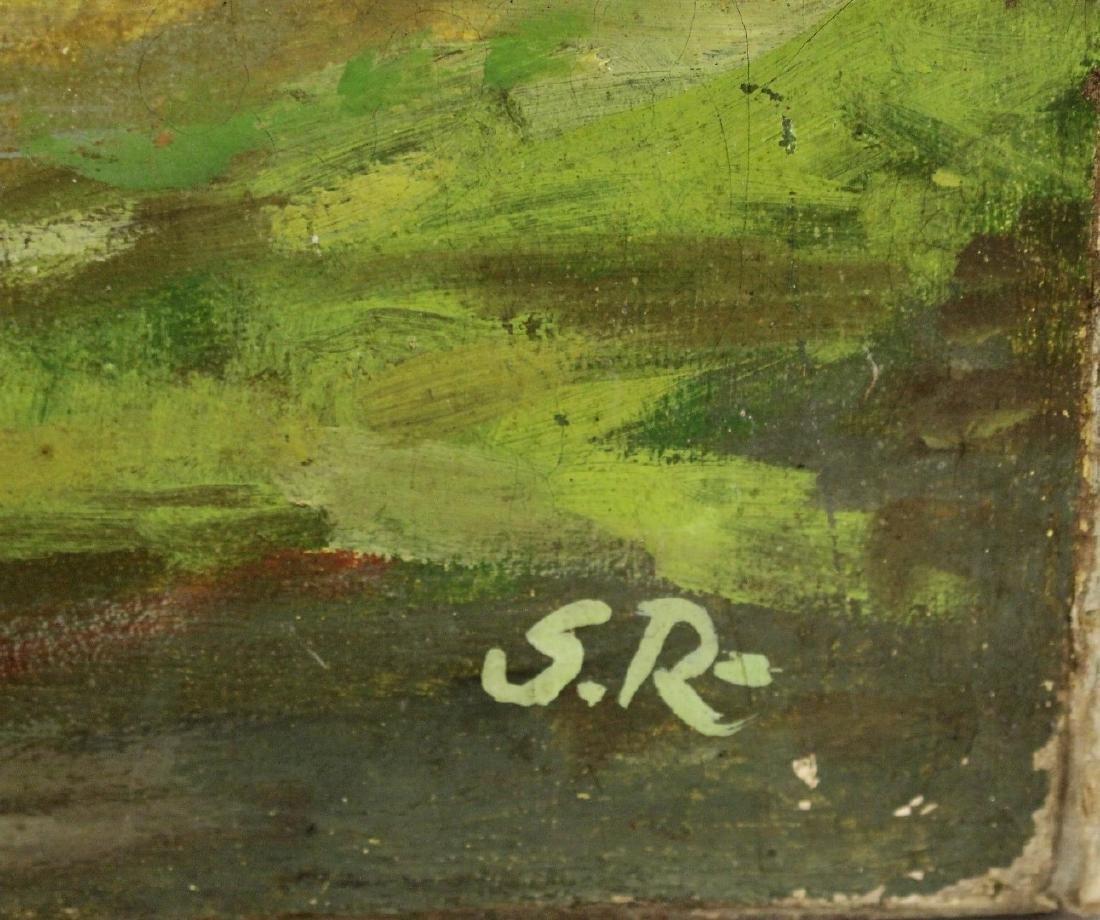 Serge Rusolofsky; 20thC. Oil Autumn Landscape Signed - 3