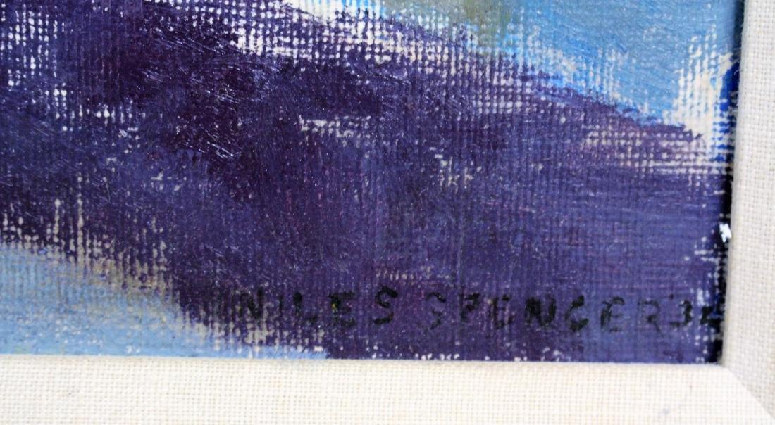 Niles Spencer; 20thC. American Modernist Oil Signed - 4