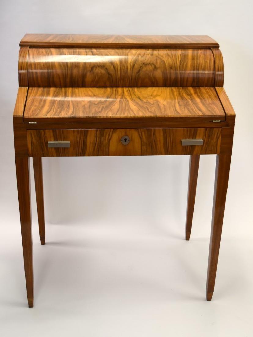 French Art Deco  Mahogany Ladies Desk
