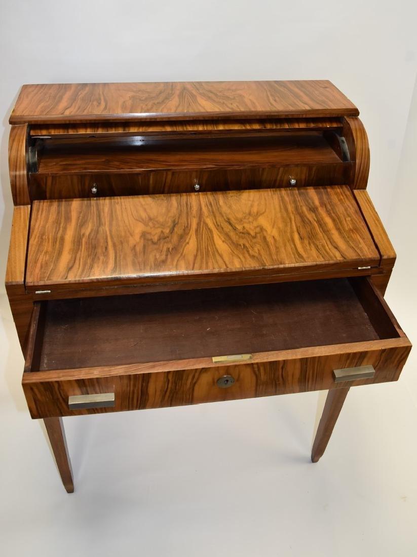 French Art Deco  Mahogany Ladies Desk - 3