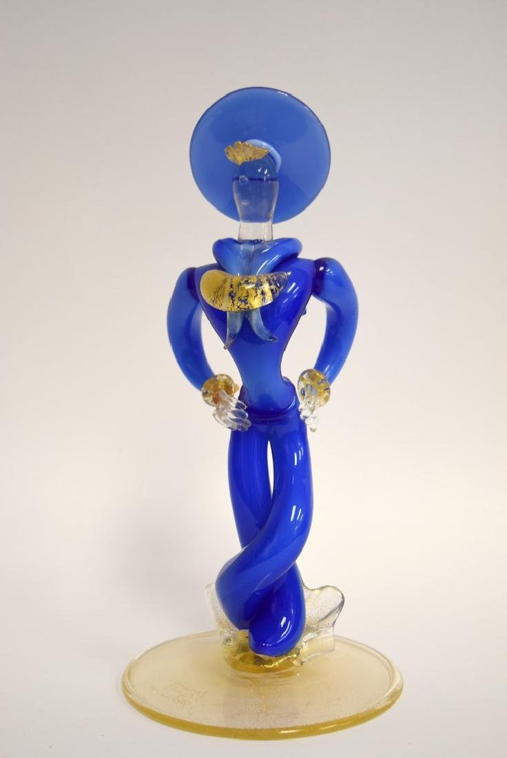 Seguso Murano Glass Sailor Signed - 2