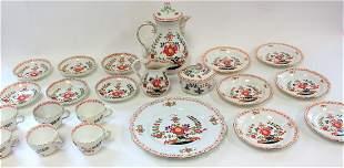Meissen Porcealin Tea Set(22 pieces)