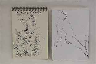 SungJa Lee 20thC Korean Sketch Books2