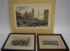 Three(3) Miscellaneous Prints