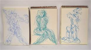 SungJa Lee 20thC Korean Sketch Books3