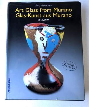 Marc Heiremans; Art Glass from Murano