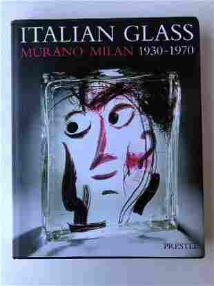 H. Ricke/E. Schmitt; Italian Glass Murano-Milan