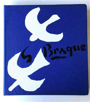 Ponge/Descargues/Malraux; Georges Braque