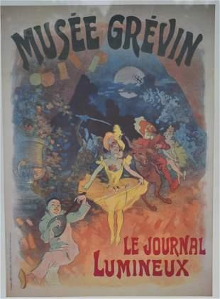Jules Cheretafter Framed French Poster