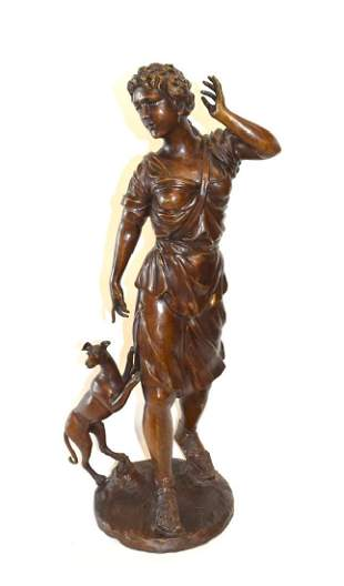19thC Continental Bronze Grouping