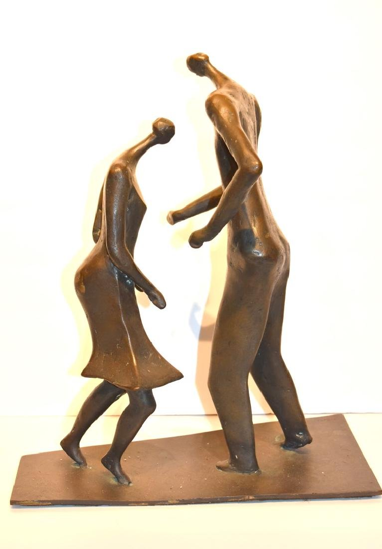 Henry Moore(after); 20thC. Modernist Bronze Grouping - 3