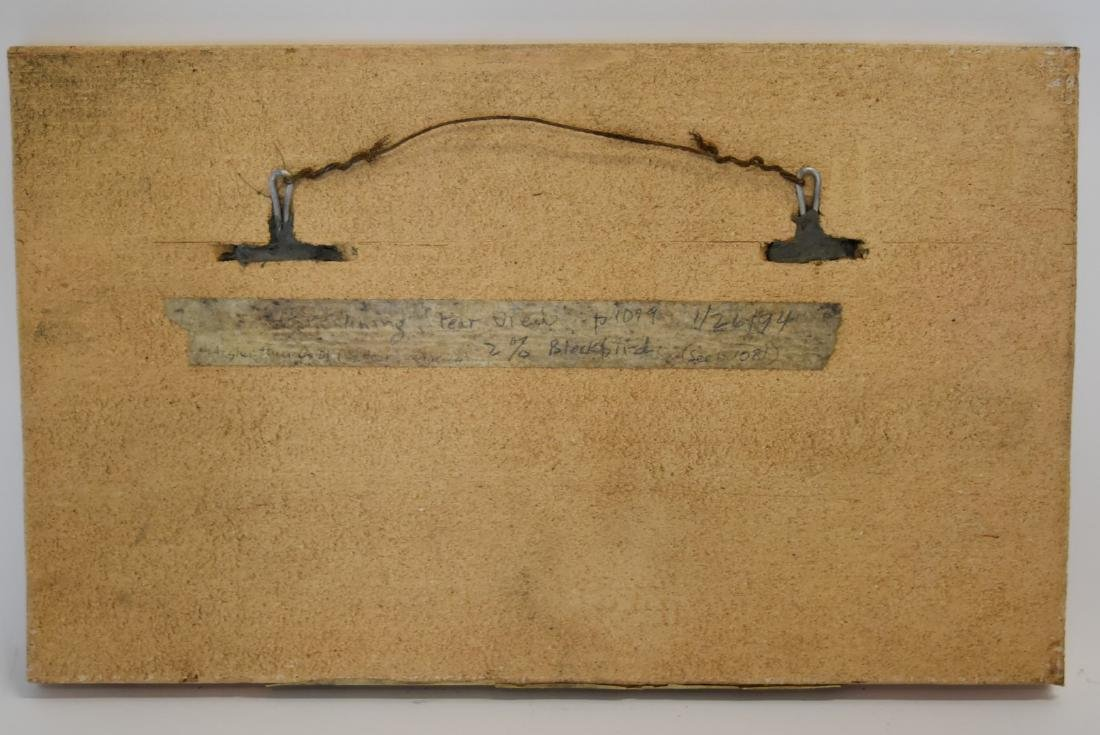 H. Sargent; 20thC. Terracotta Plaque Signed - 5