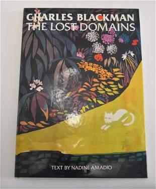 Nadine Amadio Charles Blackman The Lost Domains