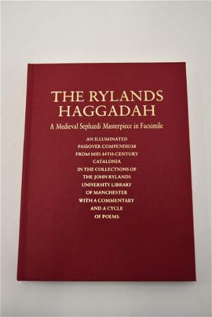 Raphael Lowe The Rylands Haggadah