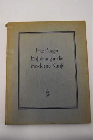 Fritz Berger Einfuhrung in die Moderne Kunst