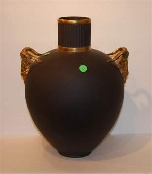 Sevres Basalt Porcelain Vase