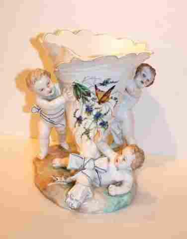 French Porcelain Planter