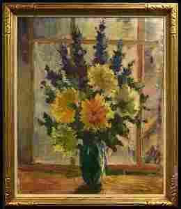 Dorothea Sharp; 20th C. British Oil Painting Signed