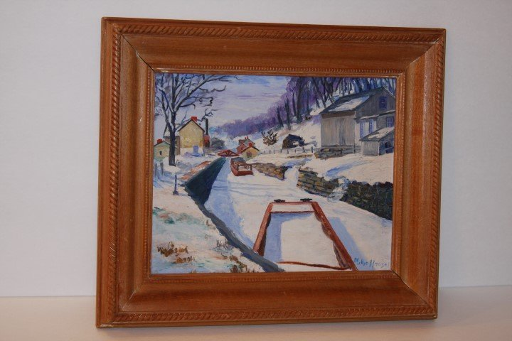 Millie Housel; Oil Painting Signed