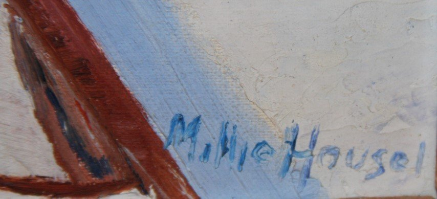 Millie Housel; Oil Painting Signed - 3