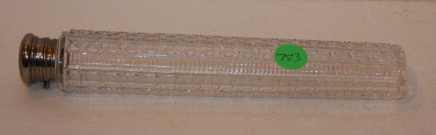 American Victorian Cut Glass Vinaigrette