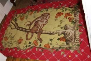 Hooked Monkey Rug