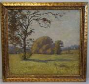 Frank W. Loven; American Oil Painting Signed