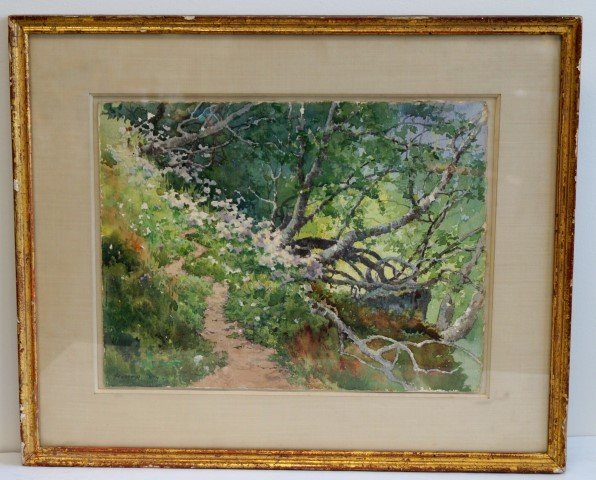 Winslow Homer; Important American Watercolor Signed
