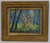 George L. Noyes; American Oil Painting Signed
