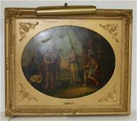 Angelica Kauffmann; 18th C. Neo-Classical Oil Painting