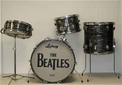 """1964 Vintage Ludwig """"The Beatles"""" Drum Set"""