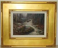 Paul Ceschino; 20th C. American Oil Painting Signed