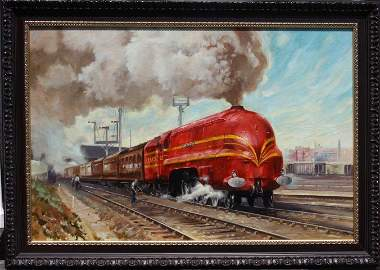 Terence Cuneo(attributed to) oil painting sgd.