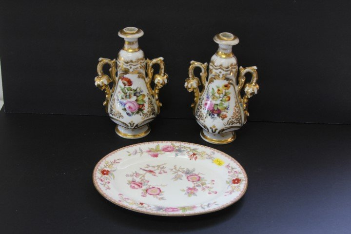 Three(3) Miscellaneous Porcelain Items