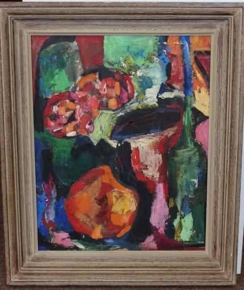 Arthur B. Carles; Oil Painting Signed