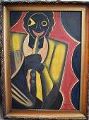 Hugo Scheiber; 20thC. Hungarian Oil Painting Signed