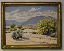 Carl Sammons; American Oil Painting Signed