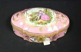 Limoges Porcelain Covered Box