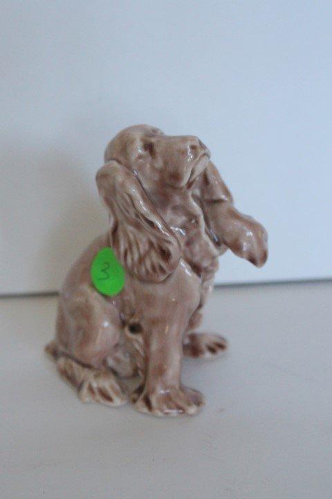 Rookwood Pottery Dog