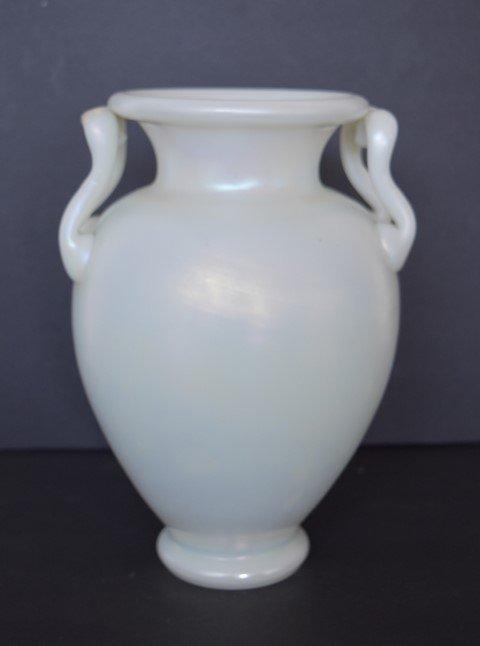 Steuben Calcite Art Glass Vase