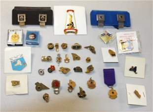 Lot of Miscellaneous Lion's Club Jewelry and Pins