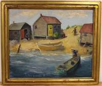 Rita Shannon 20thC American Oil Painting Signed