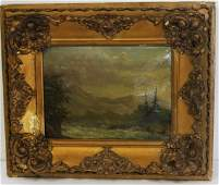 Carl F. Martens; American Oil Painting Signed