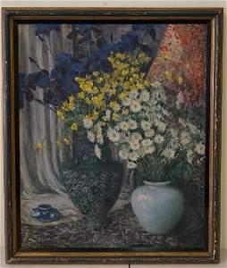 Everett Lloyd Bryant; American Oil Painting Signed