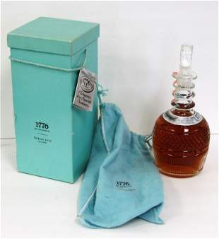 Tiffany & Co. Seagram 1776 Whiskey Bottle