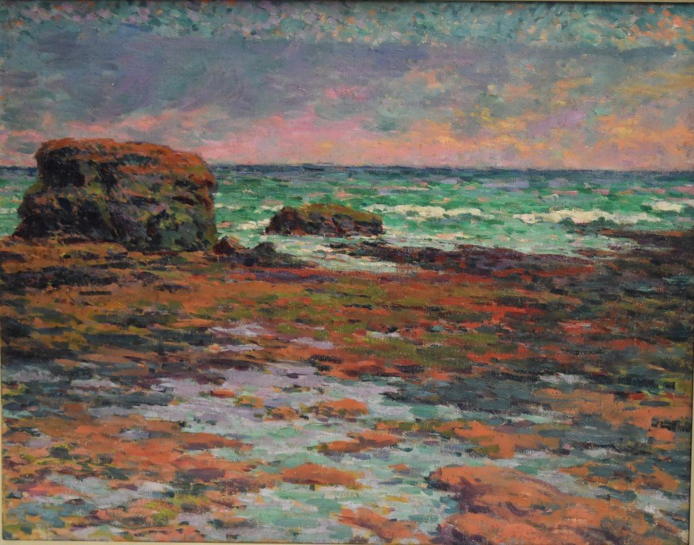 Armand Guillaumin(attributed to); French Oil Painting