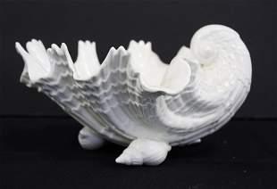 Royal Worchester Porcelain Shell Dish