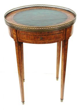 French Marquetry Inlaid Stand