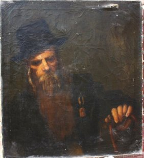 William Hicks; American Oil Painting Signed