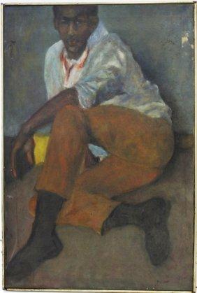 Pelham; 20thc. American Oil Painting Signed
